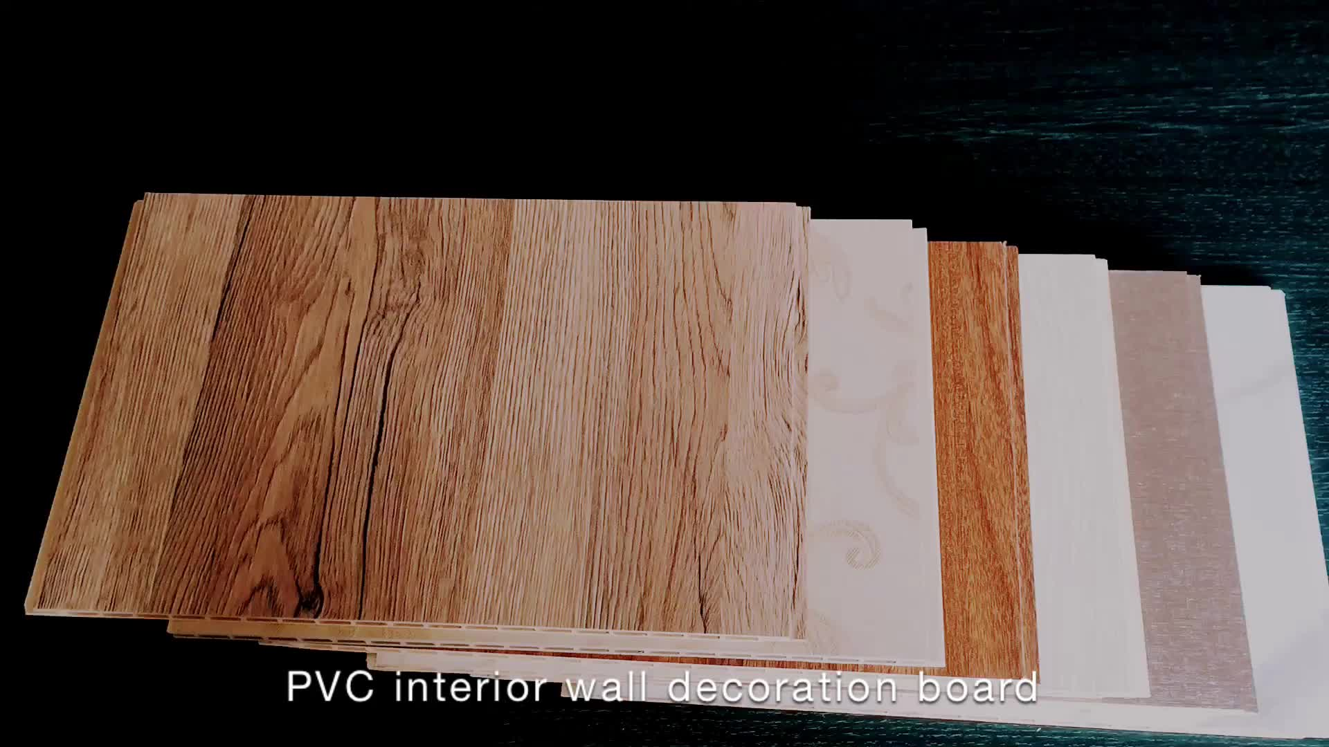 Decorative Ceiling Covering Panels Wpc Faux Wood Pvc Wall