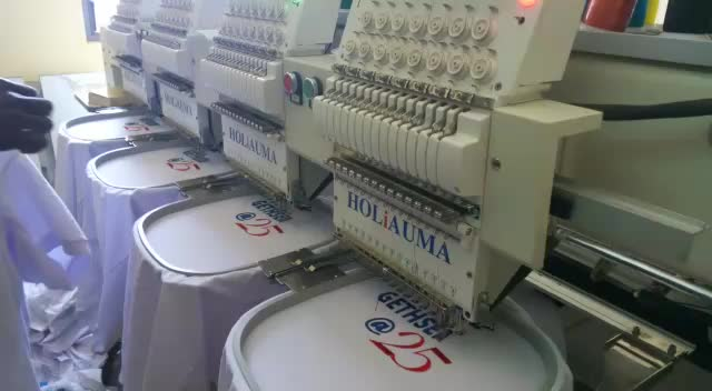 China Good Quality Sequin Embroidery Machine HO-1504 Multi-function computerized embroidery machine prices for cap/tshirt/flat