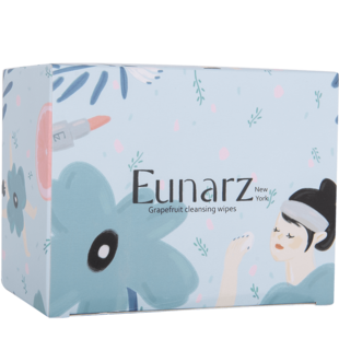 eunarz葡萄柚卸妆湿巾温和独立包装
