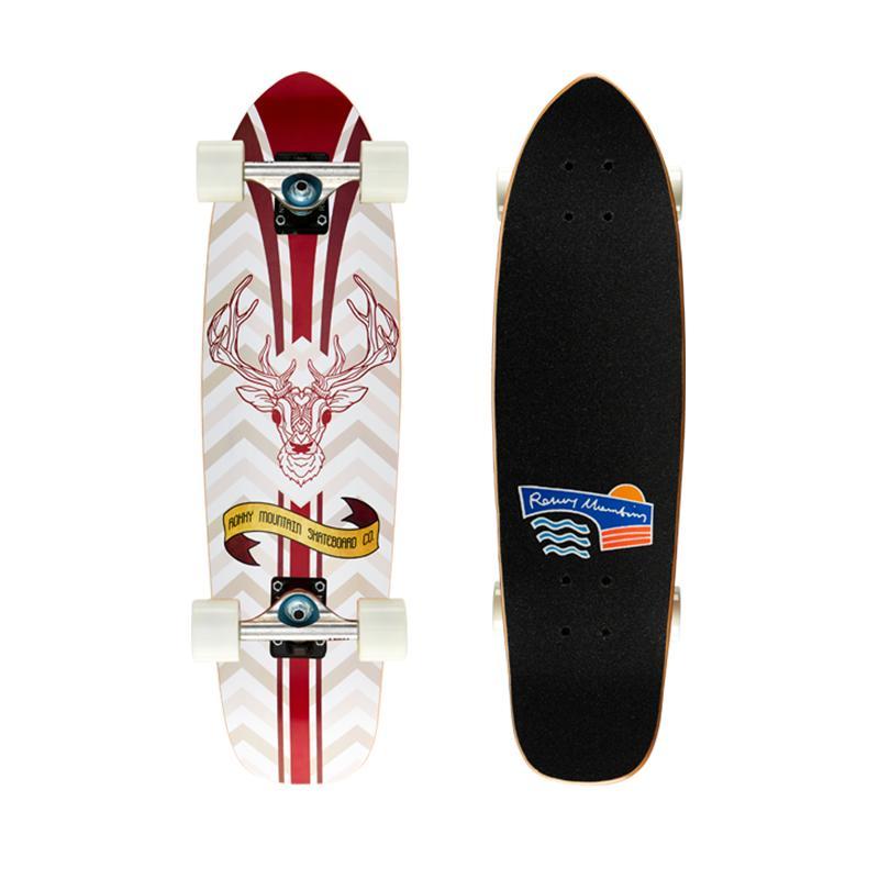 rmt专业板滑板初学者成人儿童鱼板