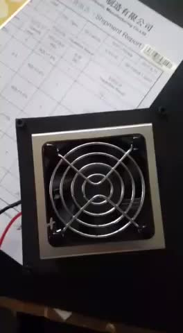 12V peltier effect Thermoelectric air conditioner SD-020-12