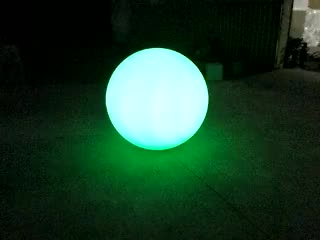 New party decoration/stage decoration inflatable LED illuminated ball