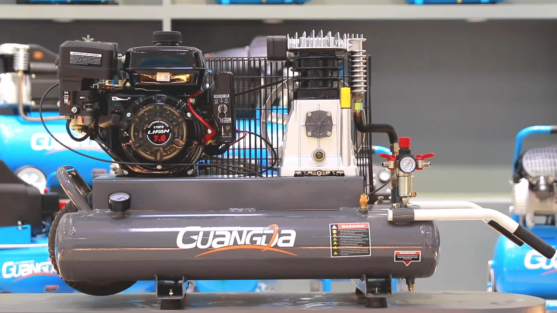 Ghe 2065 7hp 9gal Gas Air Compressor - Buy Gas Air Compressor,Petrol Air  Compressor,Gasoline Engine Air Compressor Product on Alibaba com