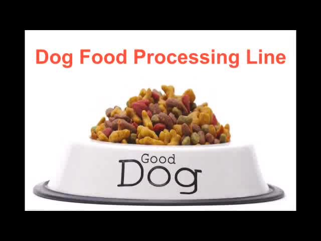 Continuous Automatic Pet food machinery system