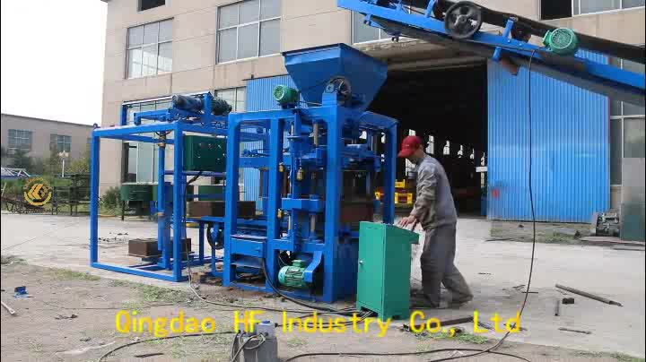 cheap price block making machine QT4-26 cement block machine price