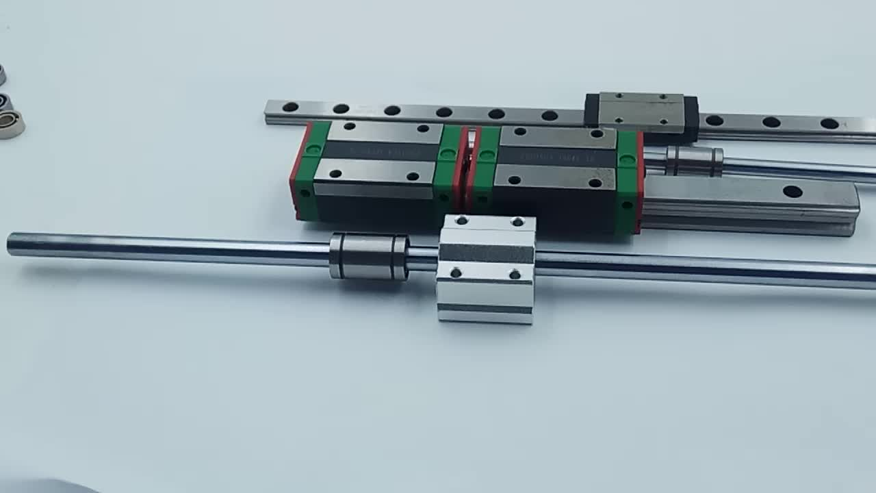 H Grade Square Linear Bearing Guide HGR20 with Linear Block HGH20CA HGH20HA