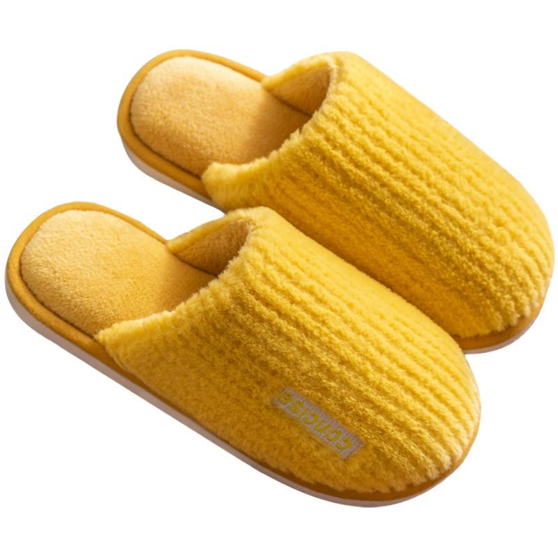 棉拖鞋女家居室内包跟家用情侣厚底质量如何