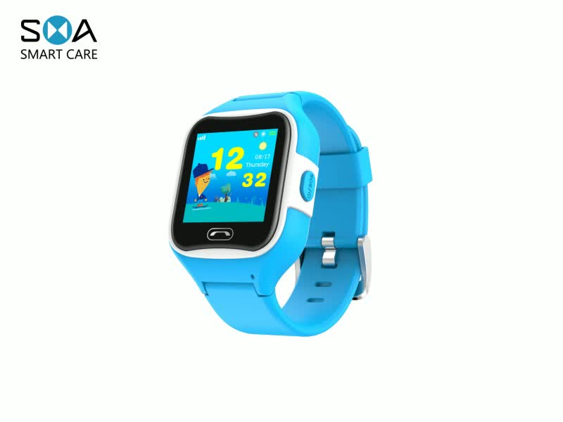 2018 New kids smart watch with  Build in SIM Card Wifi/GPS/GPRS/LBS/Beidou/Glonass location tracker,voice message,Calling,SOS,