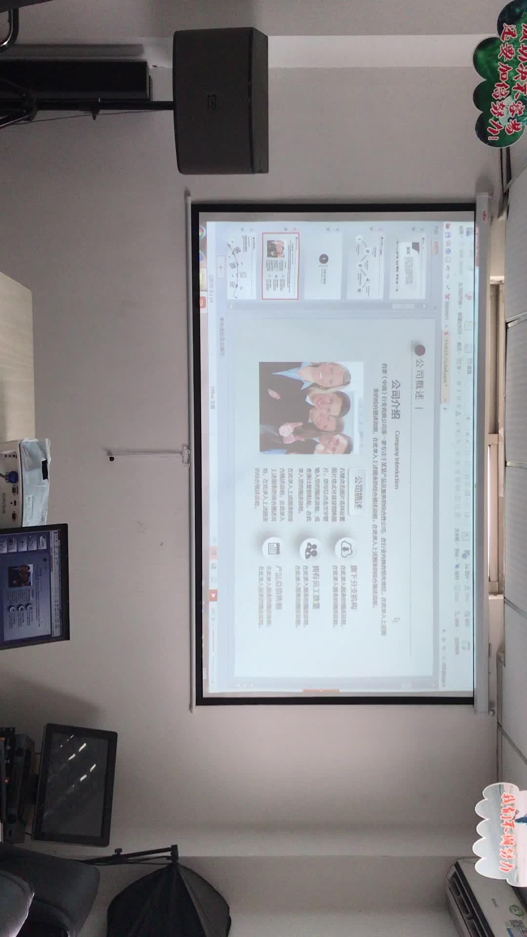Business & Education & Home Use 4000 Ansi Lumens 240 W Osram Lâmpada High End XGA DLP Projetor de Curto Alcance