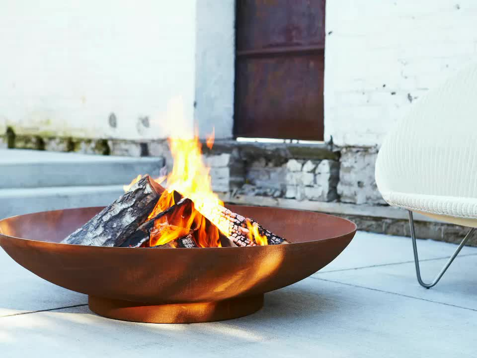 High Quality Style Fire Pit Outdoor Garden Bowl 100cm Diameter