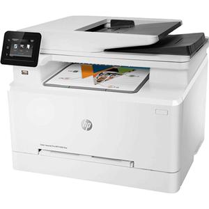 惠普hp彩色激光打印机一体机传真