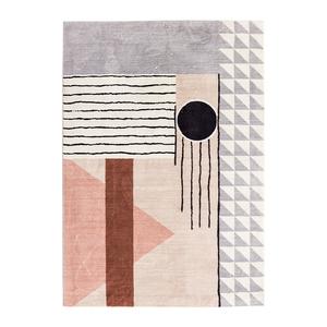 北欧现代简约客厅欧式轻奢床边毯