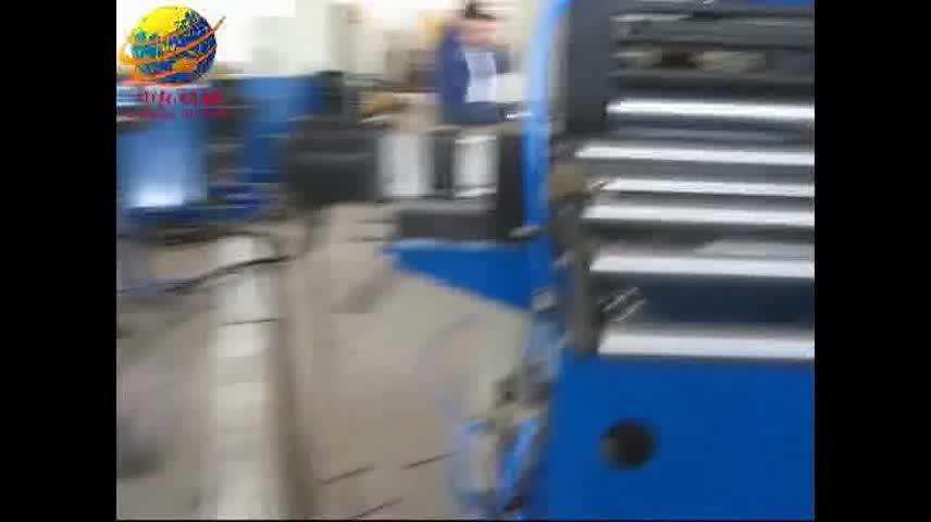 Volledige automatische veranderlijk kabel lade rolvormmachine