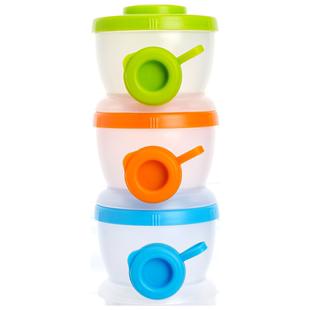 禾果宝宝分格奶粉盒便携式收纳盒