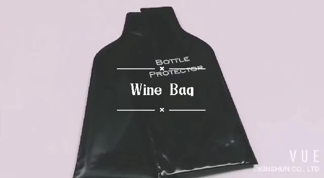 PVC bubbles plastic protective air bag packaging wine bag
