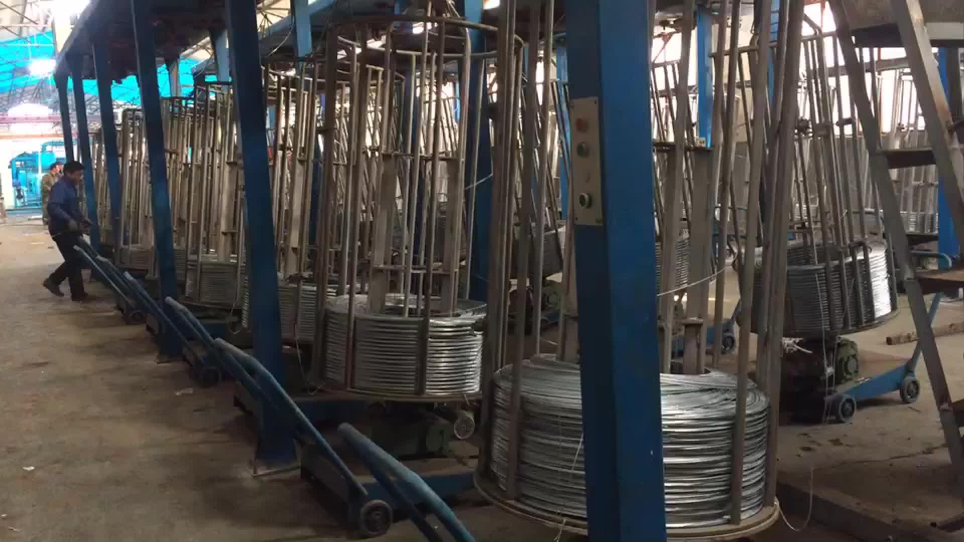 중국 알리바바 뜨거운 아연 도금 철 와이어 금속 와이어