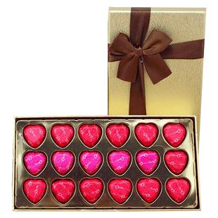 德芙巧克力礼盒装18粒牛奶夹心