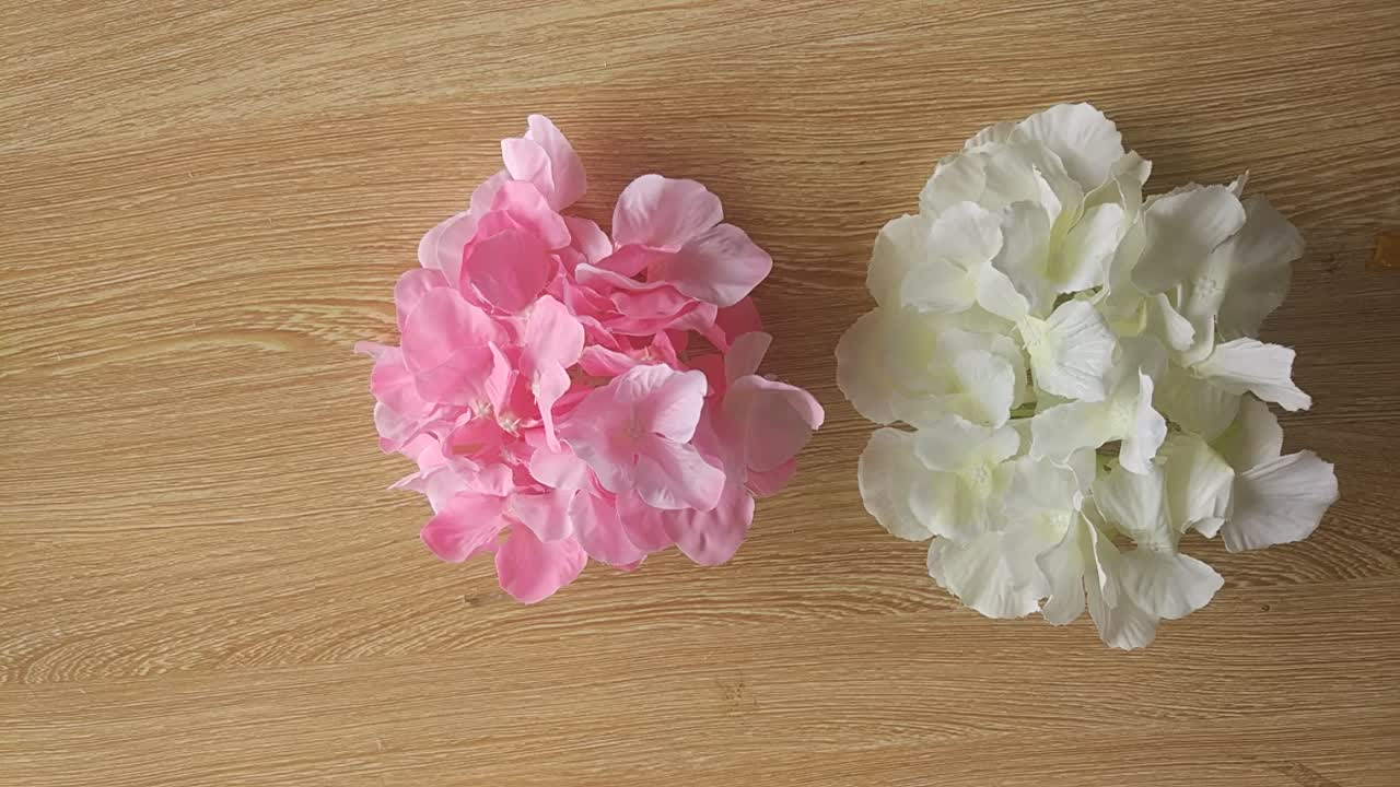 Dia 20cm Wholesale Silk Flower Head Artificial Hydrangea Flower Head