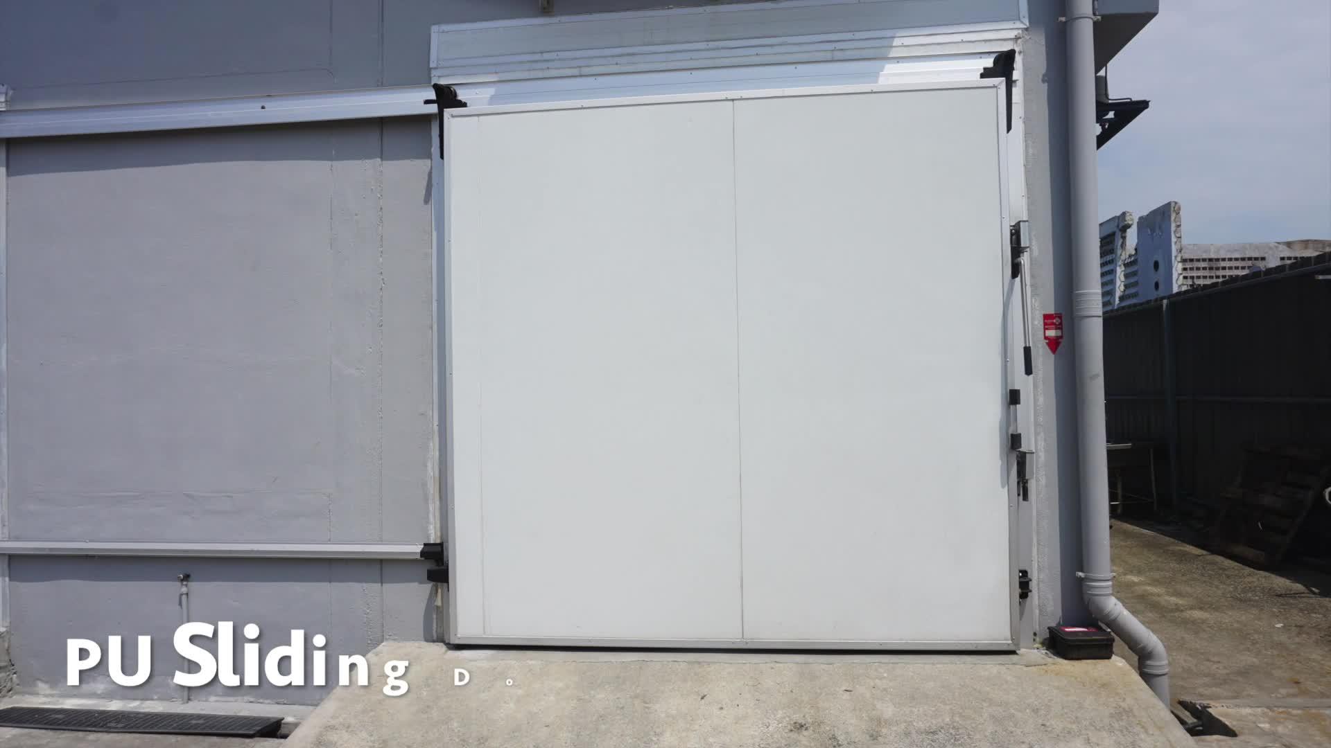 Suministro directo de fábrica de la habitación fría congelador de puerta corredera