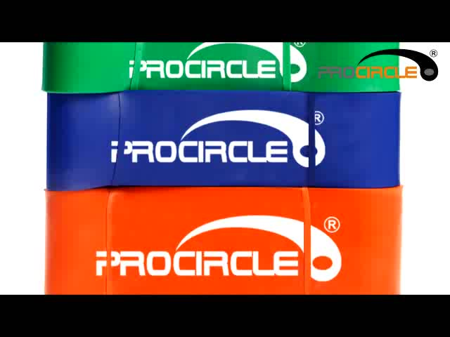 Procircle and Fitness Body Flat Resistance Bands