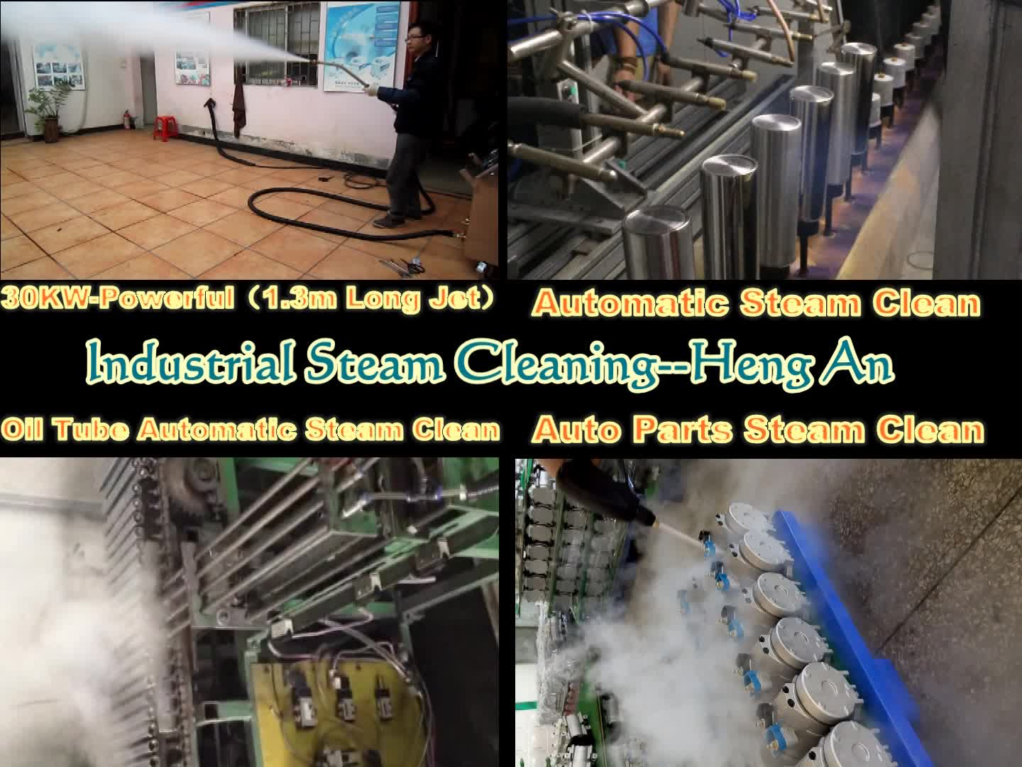 Industrial Cleaning Machine by Steam