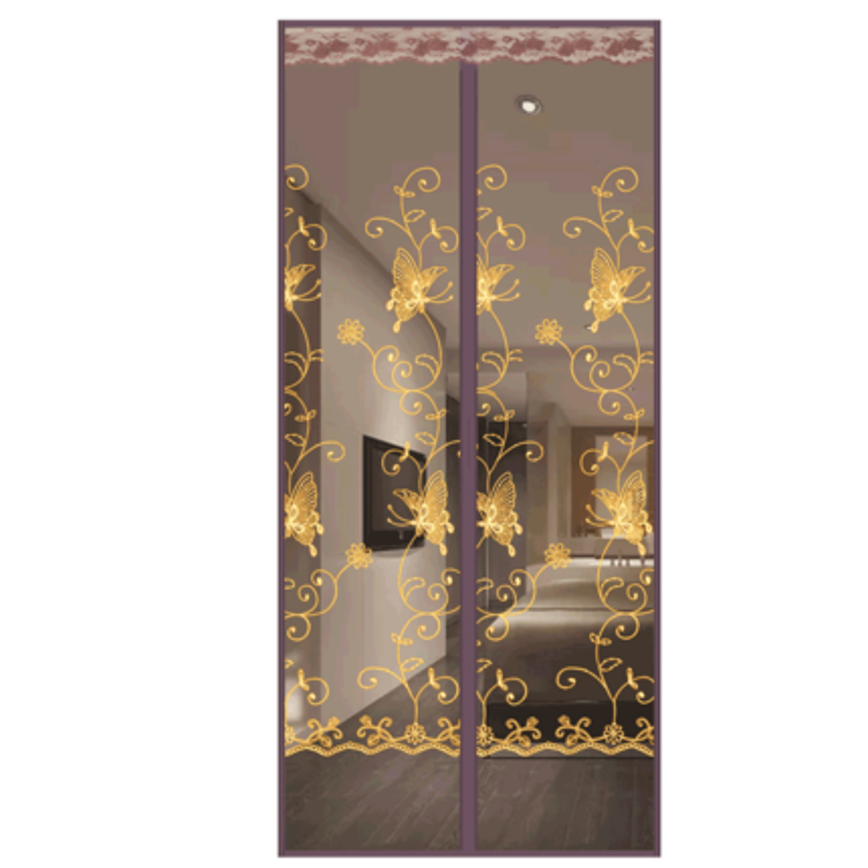 防蚊夏季家用高檔磁性臥室魔術貼