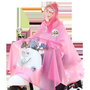 电瓶车防暴雨长款全身女自行车雨衣