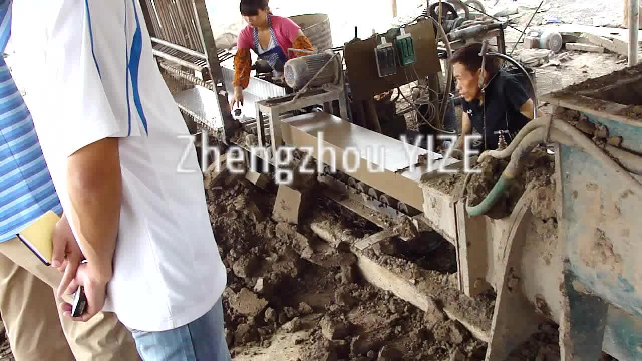 Trung quốc logo đất sét làm gạch khuôn giá máy tại Ấn Độ và sri lanka để bán