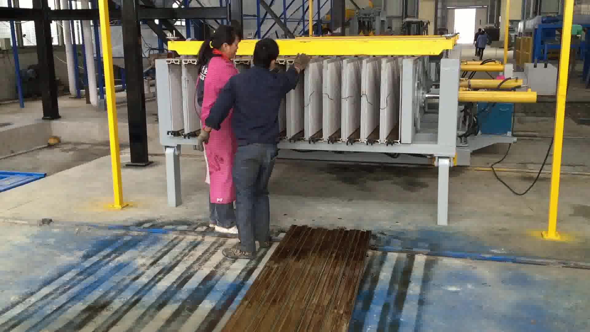 Wandpaneel aus EPS-Zement
