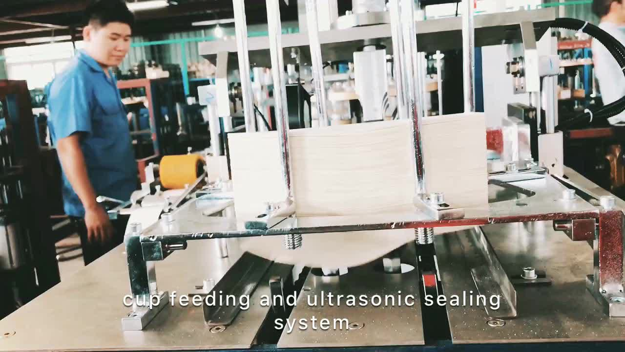 High efficient automatic paper cup making Machine (MB-S12)
