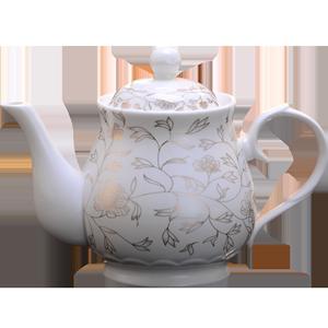 景德镇瓷器茶壶陶瓷大容量瓷茶壶大号单壶瓷陶瓷壶套装泡茶壶家用