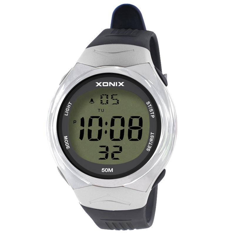 xonix时尚防水游泳led青少年手表好用吗