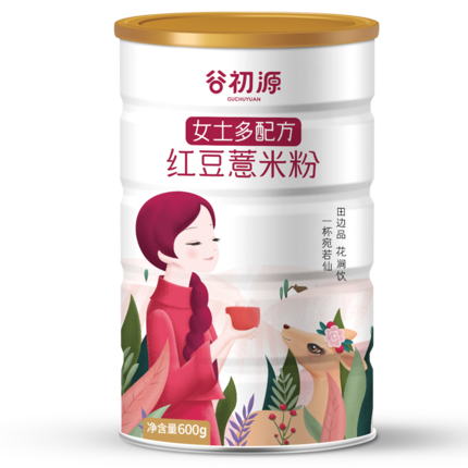 紅豆女士薏仁即食營養早餐薏米粉