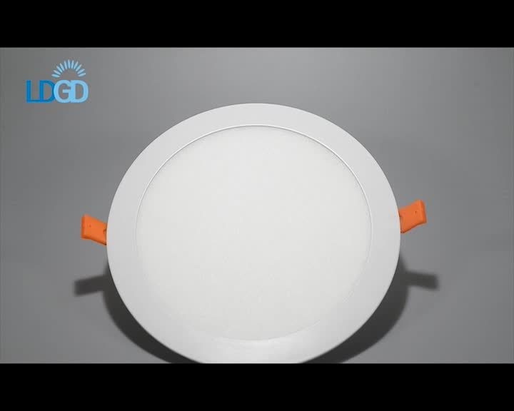 High quality and fast delivery 12W / 18W / 24W ultra thin recessed round led flat panel ceiling wall light with cheap price