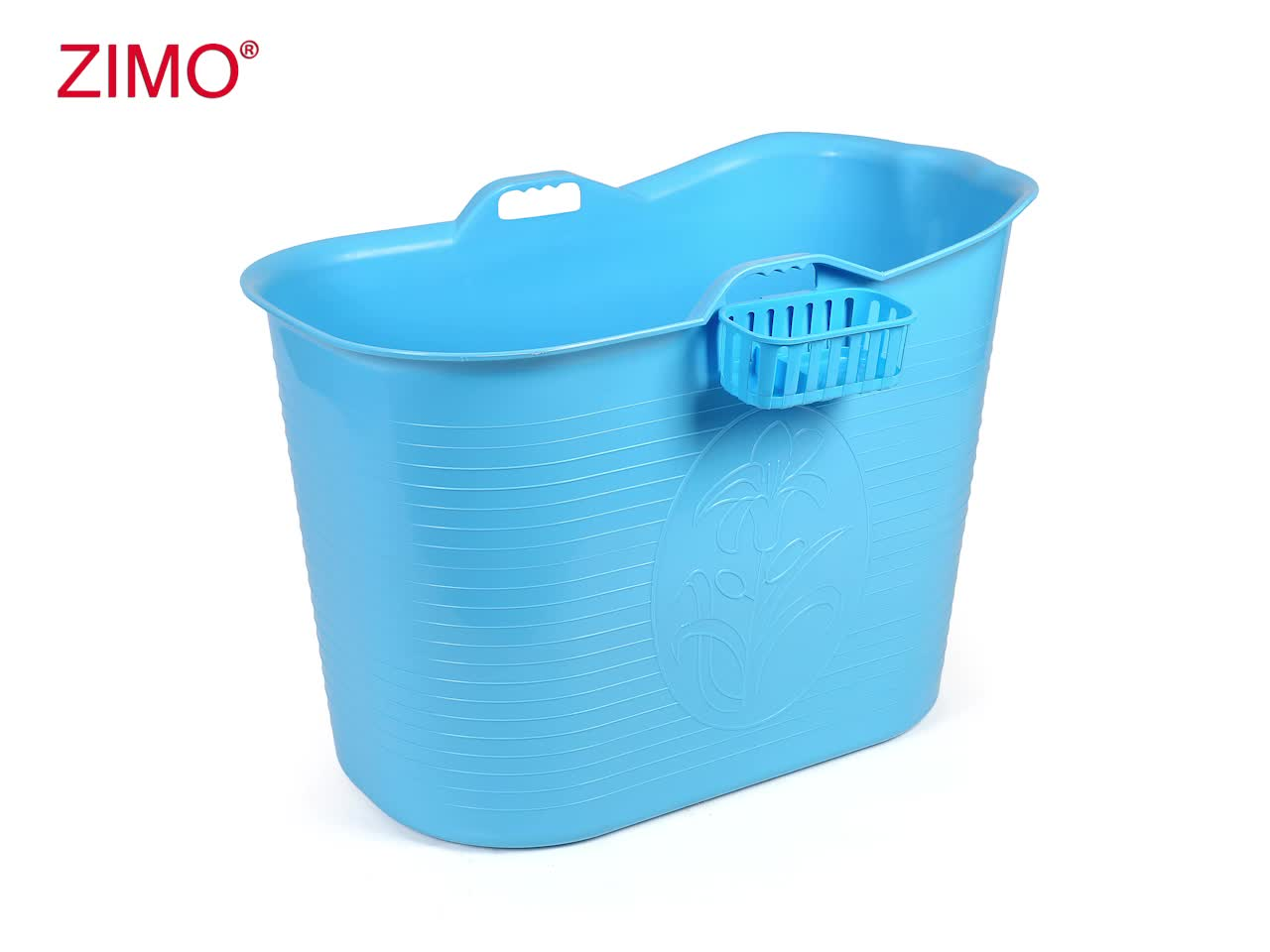 2019 New SGS test passed Portable Plastic Bath Bucket for Adults