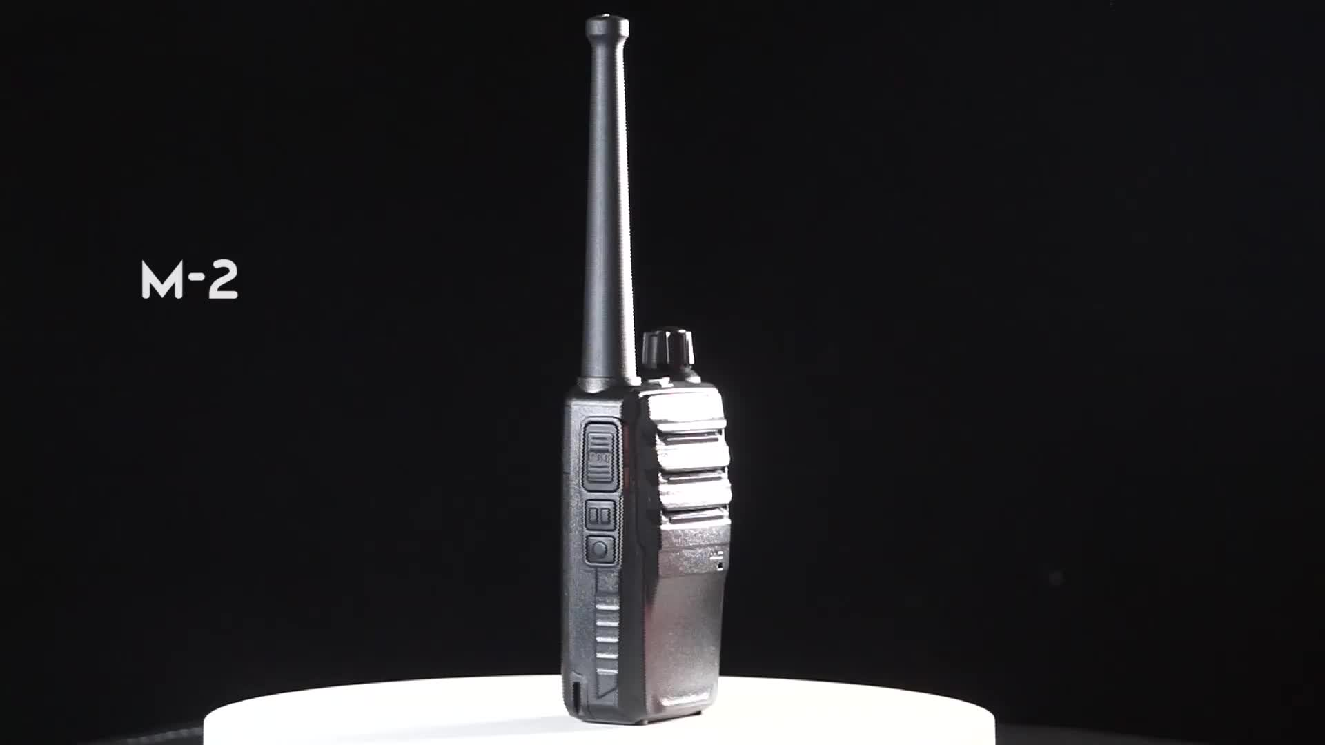 MSTAR M2 mini pocket 0.5-watt FRS two-way walkie talkie