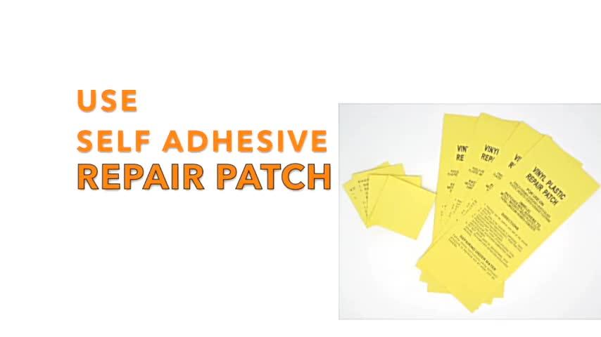 Tear repair aid waterproof adhesive tape patch, PVC inflatable boat repair kit
