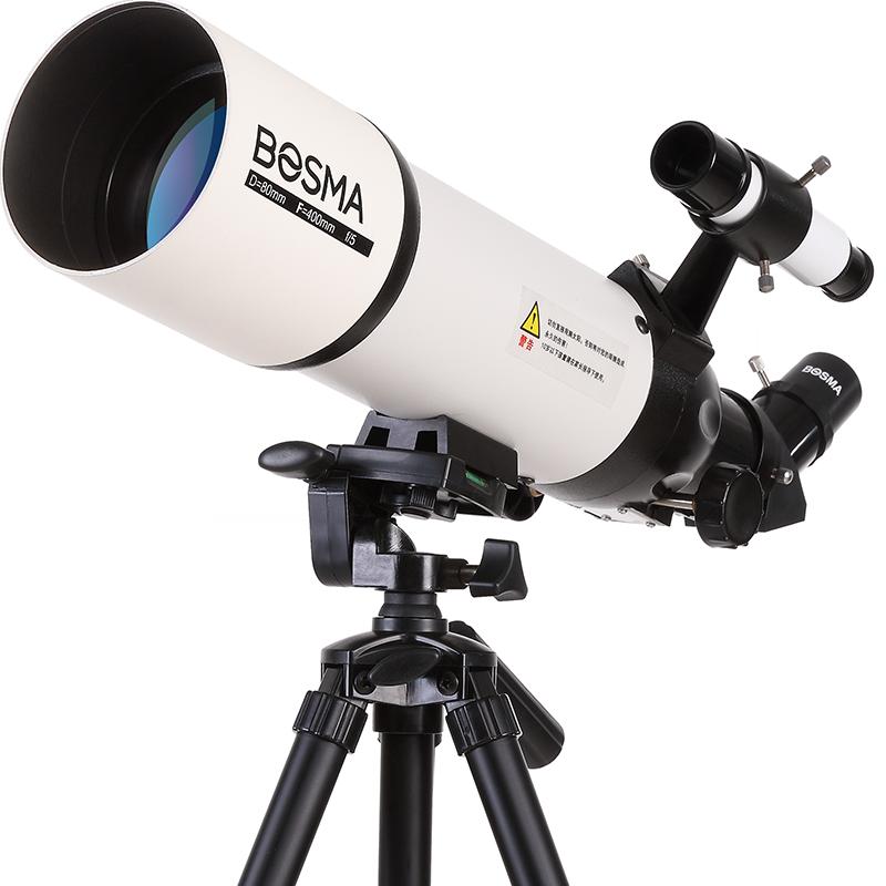 博冠天文望远镜专业观星观天高倍儿童80400望远镜天文1000000