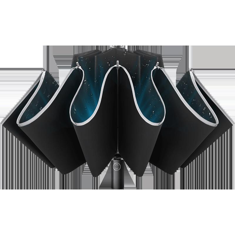 左都车载雨伞男士黑科技全自动雨s伞女晴雨两用反向伞折叠自动伞