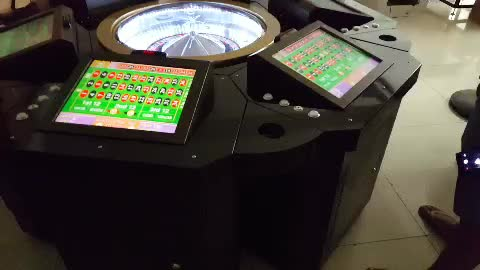 17 inch touch LCD display casino roulette table machine slot gambling machine