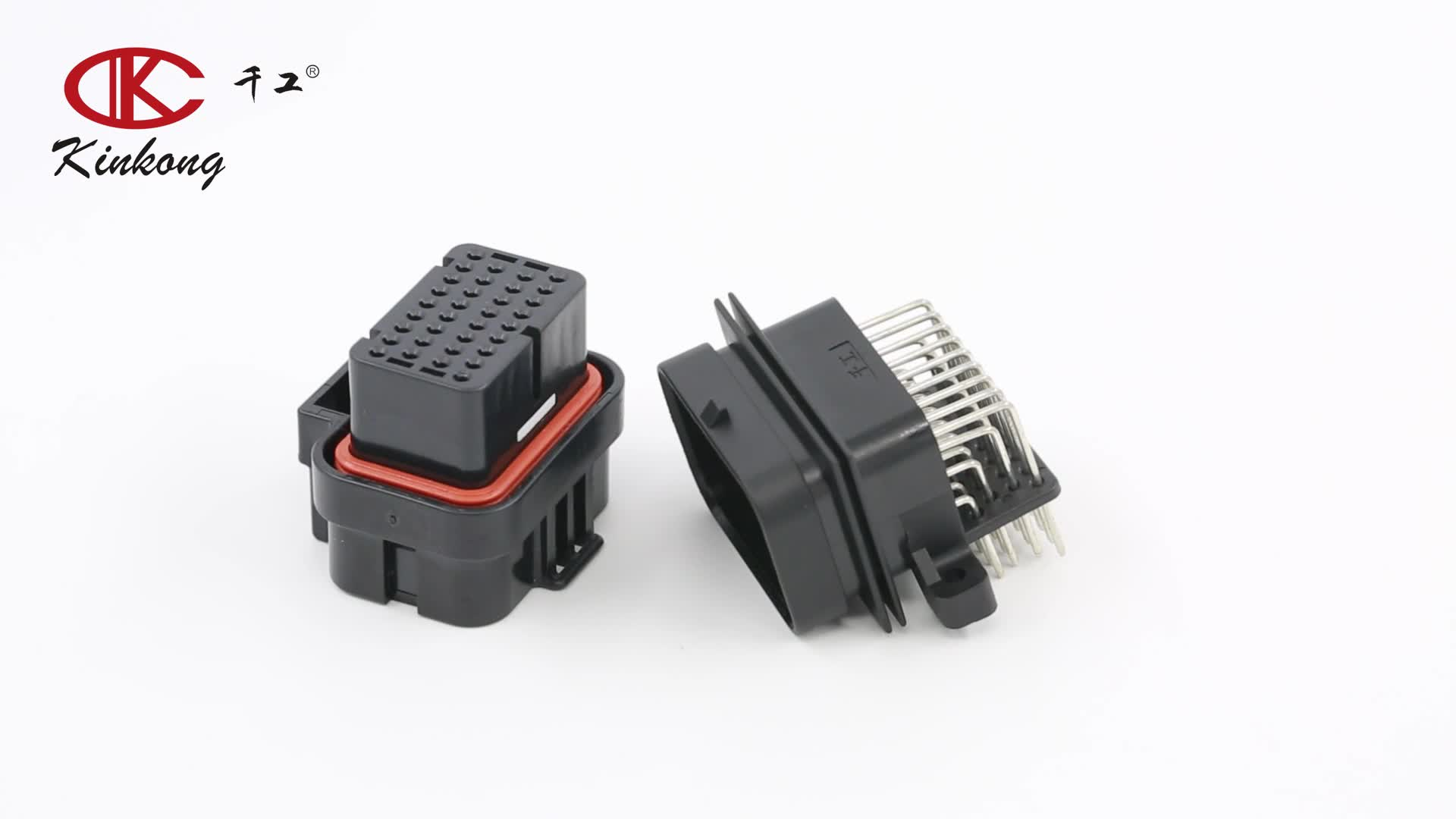 Kinkong 26P Tyco Super seal 1.0mm series ECU automotive Connector 3-1437290-7 3900113-2621