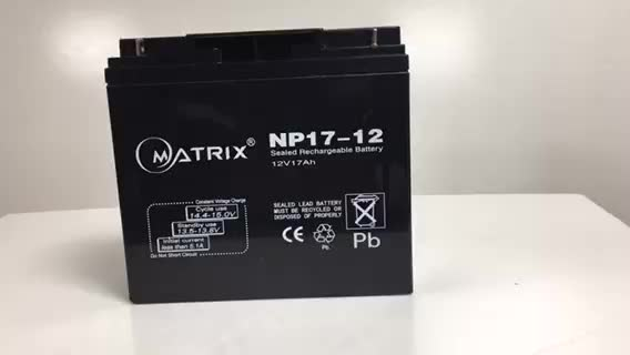 Matrix 6 fm 17 12v 17ah battery