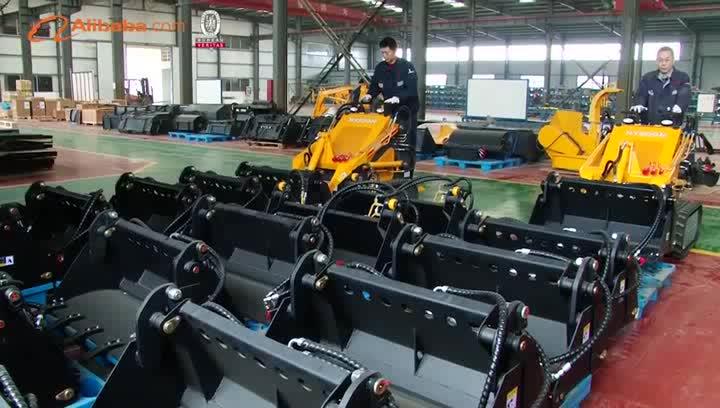 China HYSOON HY380 farm mini loader
