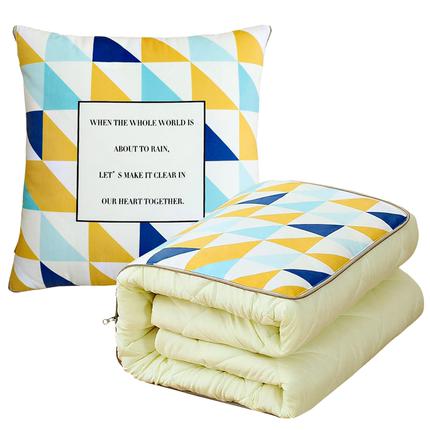 ins抱枕被子两用办公室靠枕头折叠