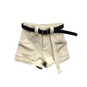 欧洲站2021夏季新款大口袋休闲短裤