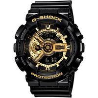 casio旗舰店ga-110gb黑金方电子表质量怎么样