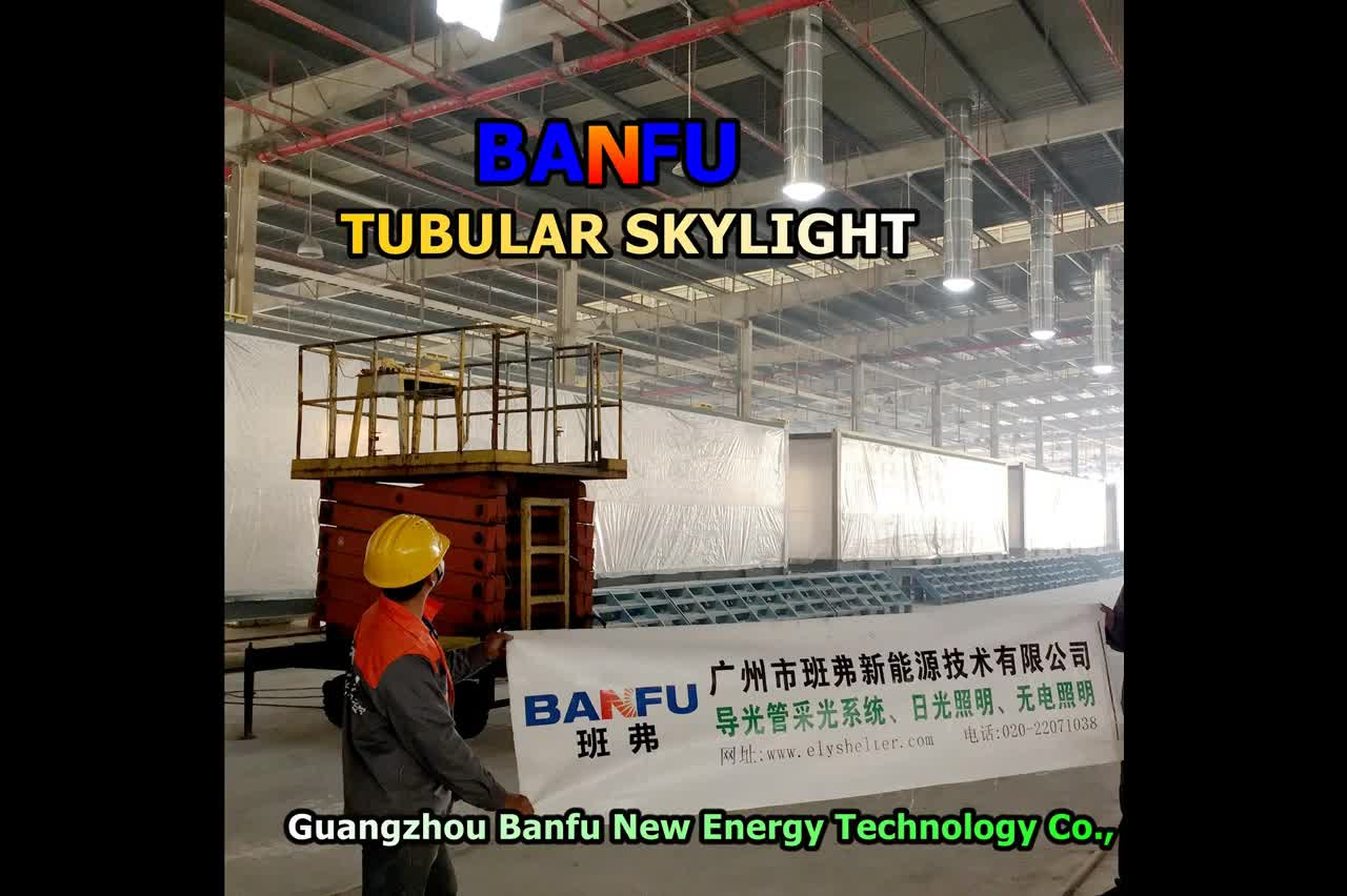 Manufacturer selling shaftless indoor skylight lighting 0W solar tubular ceiling residential commercial