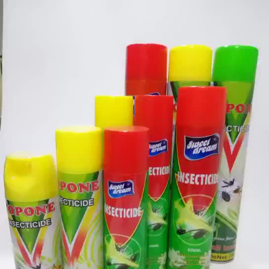 water based fast effect 400 ml insecticide spray aerosol safe environment friendly indoor 48 boxes/ carton