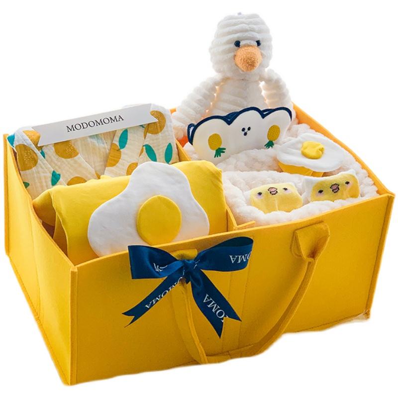 modomoma新生儿用品新疆棉婴儿礼盒好用吗