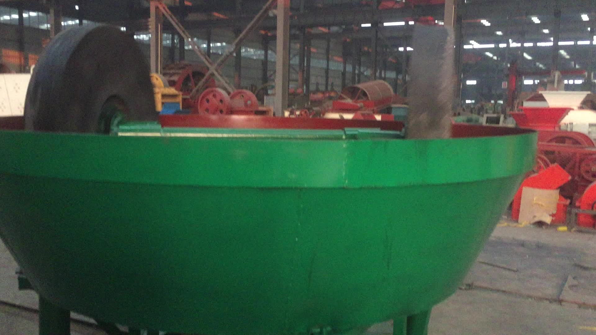 China wet pan mill/gold grinding mill for sale